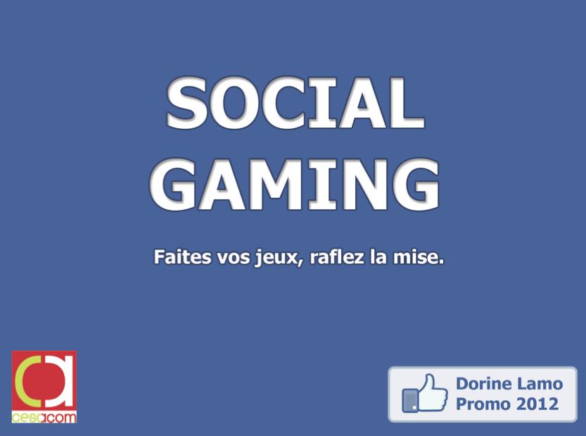 Memoire - Social Gaming