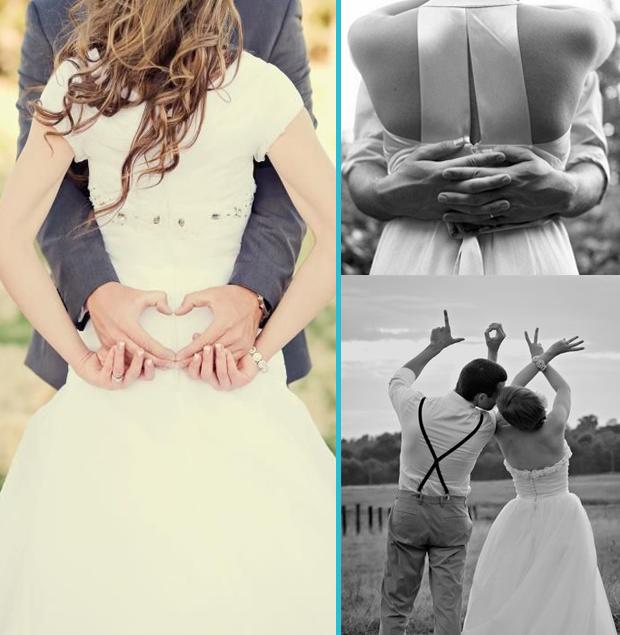 photo mariage de dos